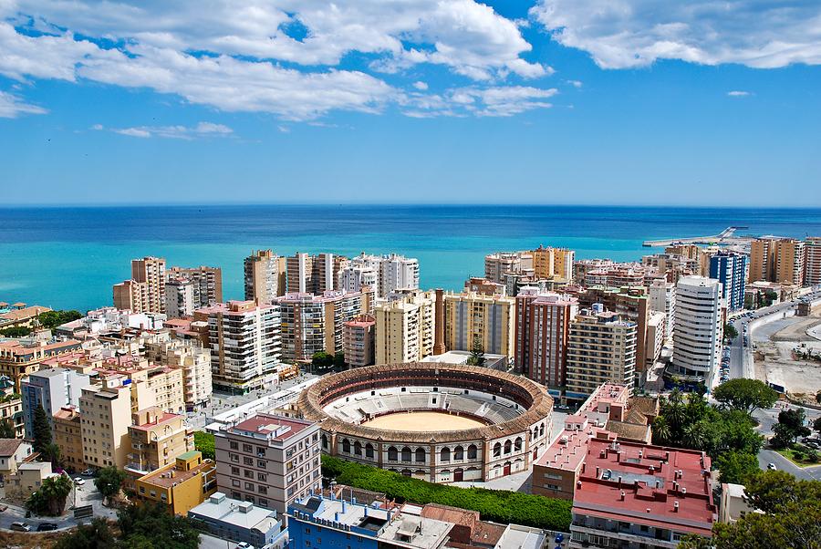 malaga cityscape - Reseguide till Malaga